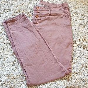 Refuge Pink Jeans